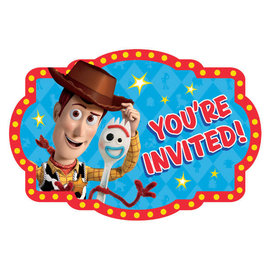 ©Disney/Pixar Toy Story 4 Postcard Invitation -8ct