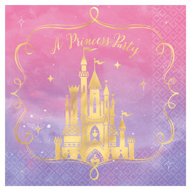 ©Disney Princess Lunch Napkins - Hot-Stamped -16ct