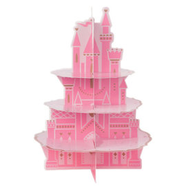 "©Disney Princess Castle Treat Stand -17 1/2"" x 12 3/4"""