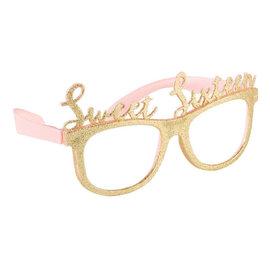 Blush Sixteen Glitter Glasses