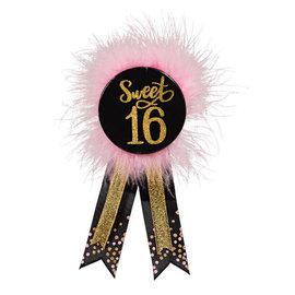 Blush Sixteen Award Ribbon