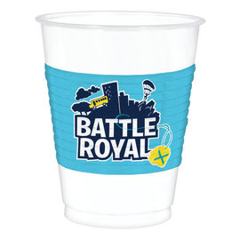 Battle Royal 16oz Plastic Cup -8ct