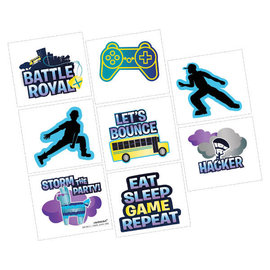 Battle Royal Tattoos -8ct