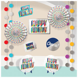 Here's To Your Birthday Room Decorating Kit