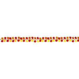 Fall Leaves Mini Fabric Garland -5 1/2'