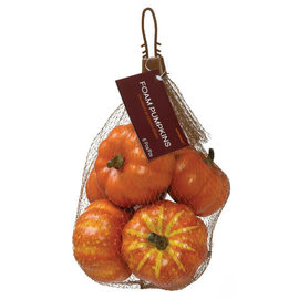 Bag Of Mini Pumpkins - Traditional Mix -6ct