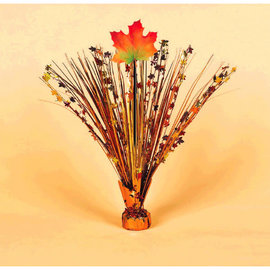 "Fall Leaves Foil 18"" Spray Centerpiece"