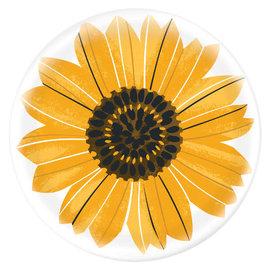 "Sunflower Printed Charger -13"" dia. Melamine"