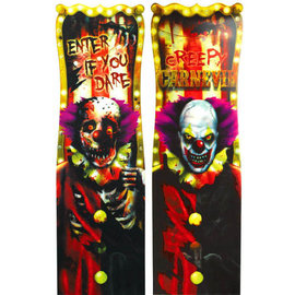 Creepy Carnival Lenticular Sign