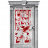Asylum Dripping Blood Door Decoration