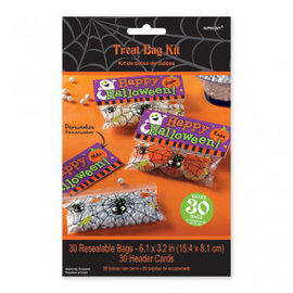 Trick or Treat Bags Kit-30ct