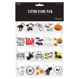 Halloween Tattoo -120ct