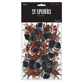 Big Pack of Spiders -28ct