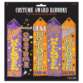 Costume Award Ribbon Multi-Pack -5ct