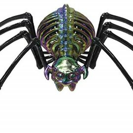 Oil Slick Spider Skeleton, 13.625""