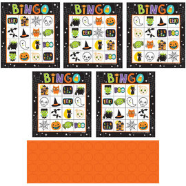 Hallo-Ween Friends Bingo-16 Cards