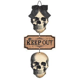 Boneyard Specialty Triple Sign w/bow
