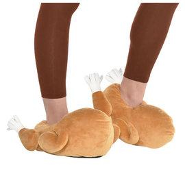 Turkey Slippers- O/S
