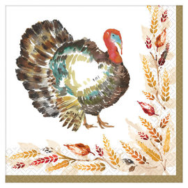 Big Party Pack Classic Thanksgiving Luncheon Napkin, 125ct