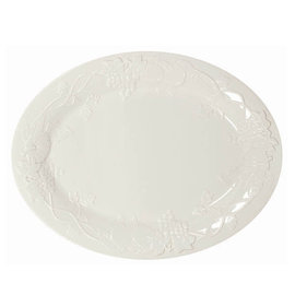 Molded Turkey Platter - White