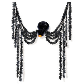 Spider All‑In‑One Honeycomb & Tinsel Decorating Kit