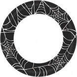 "Spider Web Value Plates, 10"" 40ct."