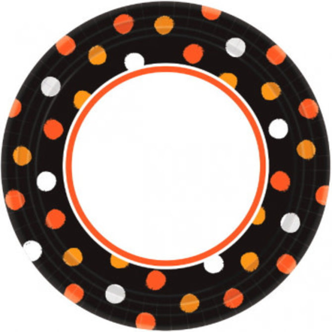 """Haunt Couture Round Plate, 10""""-40ct"""