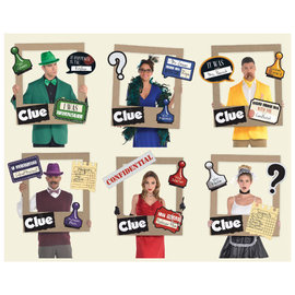 Clue® Giant Playing Card Photo Frame -19ct