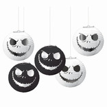 ©Disney Tim Burton's Nightmare Before Christma s Mini Lanterns 5ct