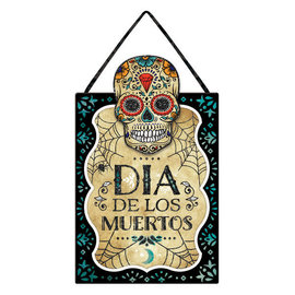 Sugar Skull Hanging Sign