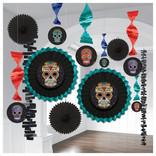 Sugar Skull Room Decorating Kit-13ct