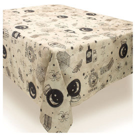 """Spooks & Spells Fabric Table Cover-60"""" x 84"""""""