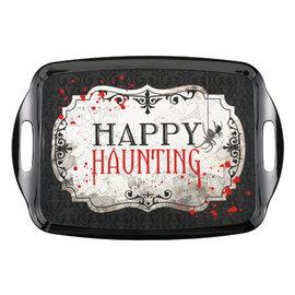 "Happy Haunting Rectangle Tray w/ Handles-14"" x 20 1/4"""