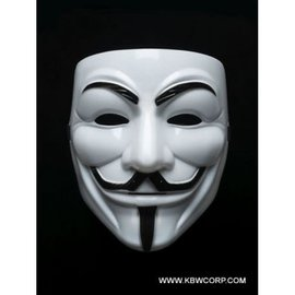 Vendetta White Face Mask