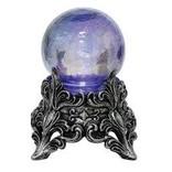 Oil Slick Light Up Crystal Ball