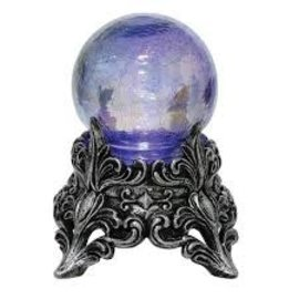 Oil Slick Light Up Crystal Ball