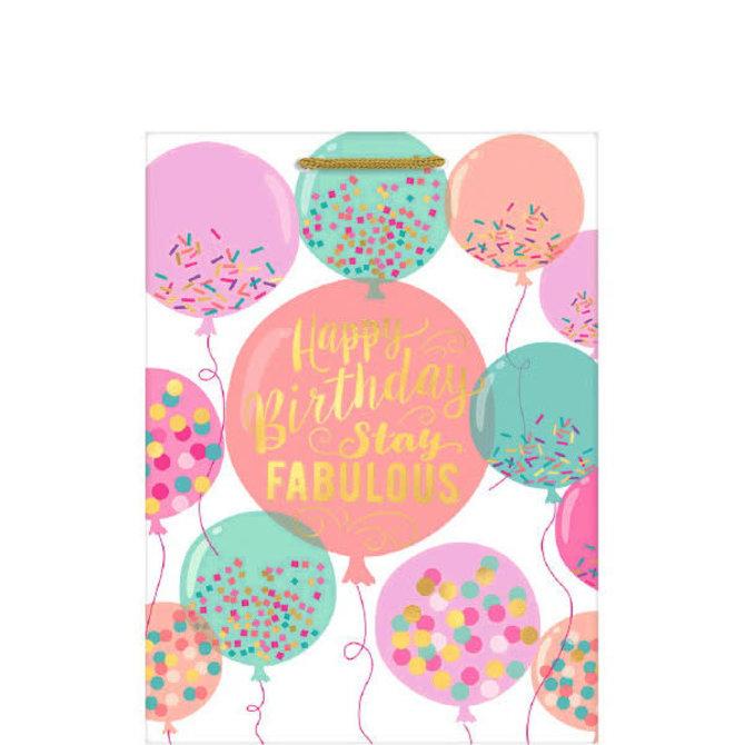 Birthday Balloons - XL Gift Bag
