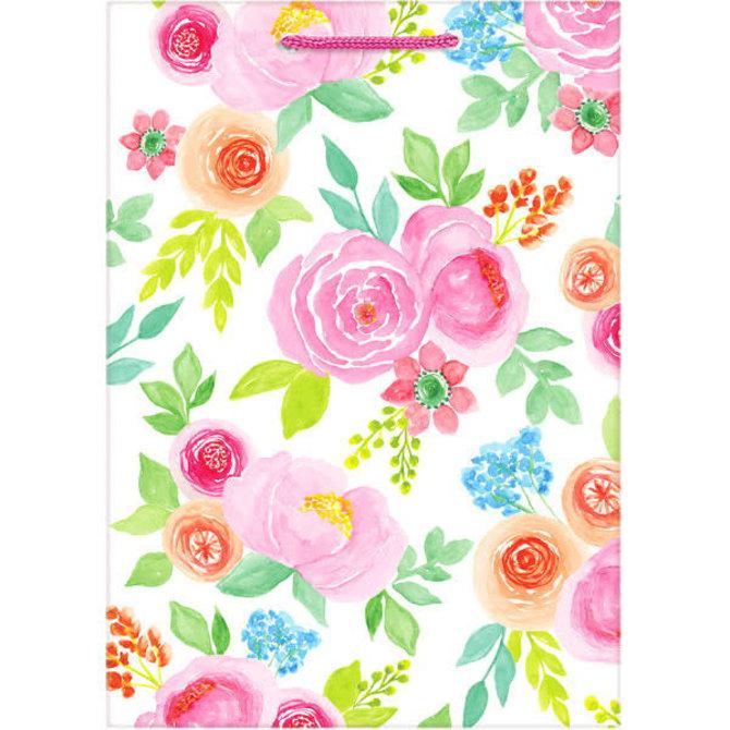 Floral Birthday Jumbo Gift Bag