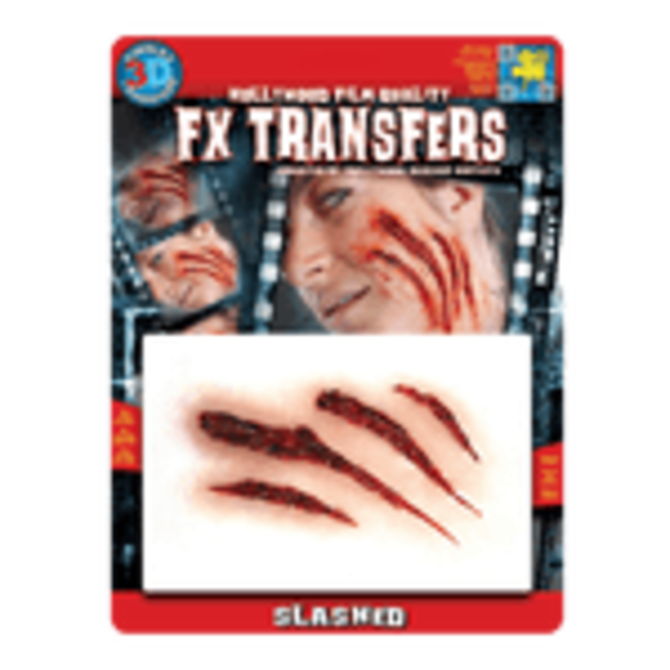 Slashed Flesh – 3D FX Transfers