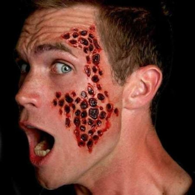 Trypophobia 3d Fx Transfers Pop Party Supply