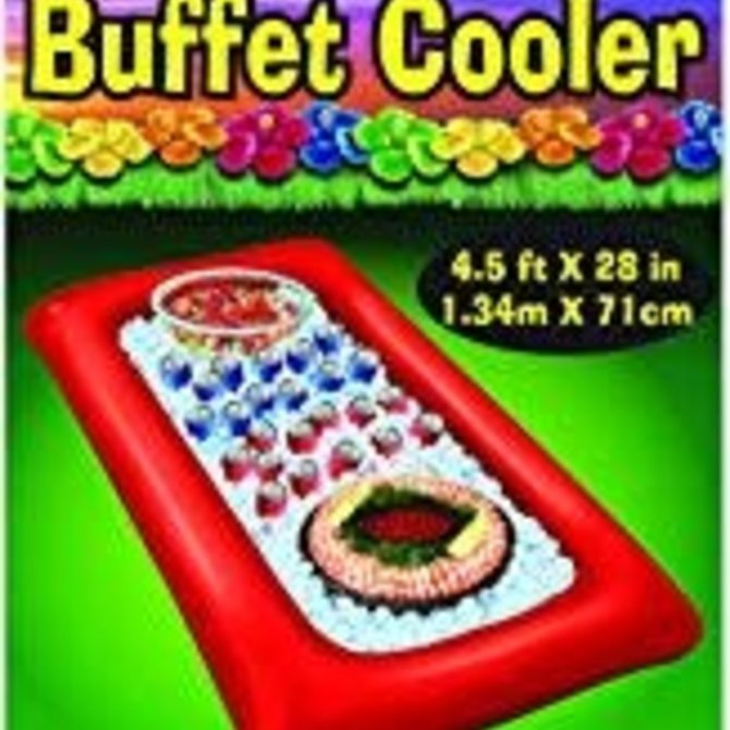 Inflatable Buffet Cooler- Red