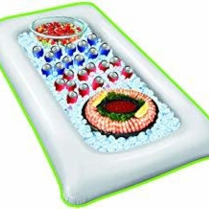 Inflatable Buffet Cooler- White