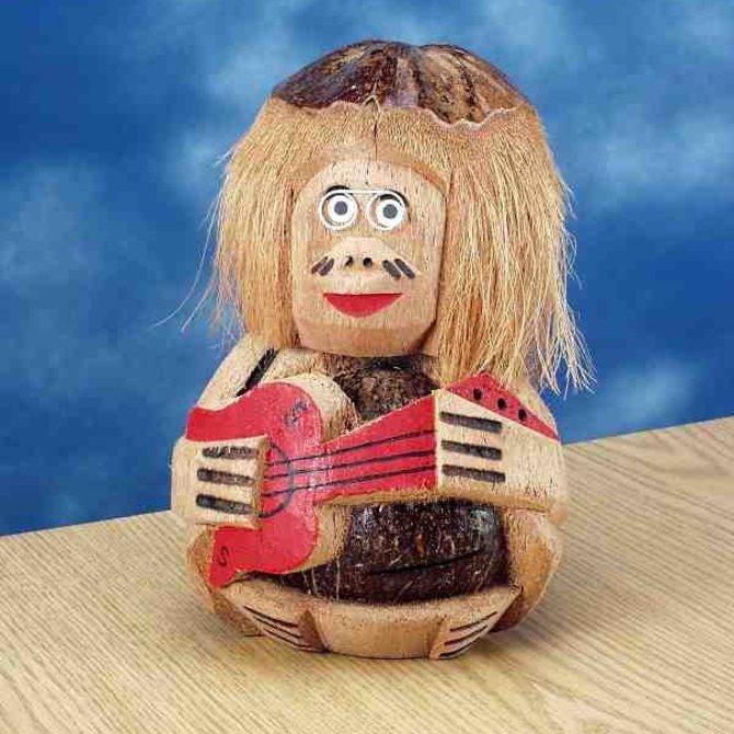 """Coconut Centerpiece- Guitar 12"""""""