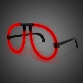 Glowing Eyeglasses- Red