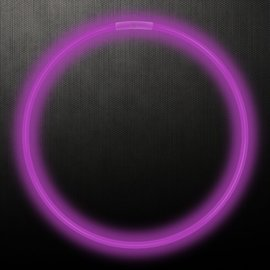 "22"" Glow Necklace- Purple"