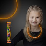 "22"" Glow Necklace- Orange"