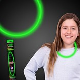 "22"" Glow Necklace- Green"
