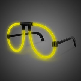 Glowing Eyeglasses-Yellow
