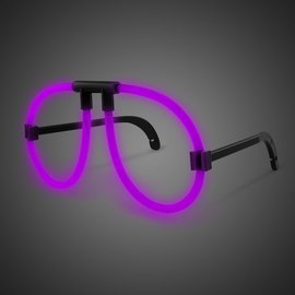 Glowing Eyeglasses- Purple
