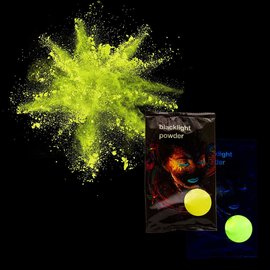 Blacklight Powder- Yellow, 70g